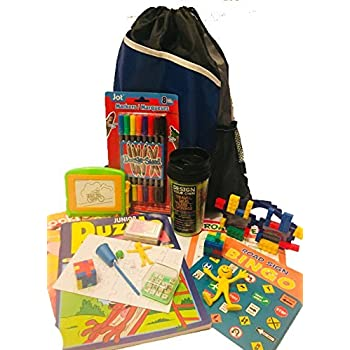 Download Amazon.com: Travel Activity Bag Kit for Kids - Keep ...