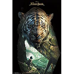 "Trends International The Jungle Book Shere Khan Wall Poster 22.375"" x 34"""