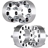 "Wheel Spacers,SCITOO 4PCS 2"" 6Lug 6x5.5 / 6x139.7 108mm Wheel Spacer Adapters 00-14 Cadillac Escalade Chevy Silverado Express Suburban 1500 Tahoe GMC Yukon XL Sierra 1500 14x1.5 Studs"
