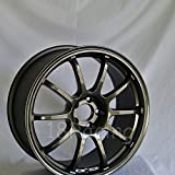 4 PCS ROTA G FORCE WHEELS 18X9 PCD:5x114.3 OFFSET:30 HB:73 GUNMETAL