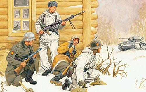 プラッツ 1/35 第二次世界大戦 ドイツ軍 青師団 スペイン義勇兵 東部戦線1942-43 プラモデル DR6674