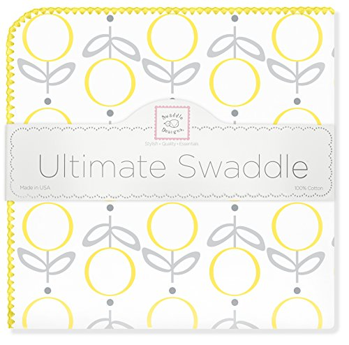 SwaddleDesigns Ultimate Swaddle Blanket Premium