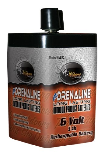 Wildgame Innovations 6 Volt eDRENALINE Rechargeable Spring Top Battery