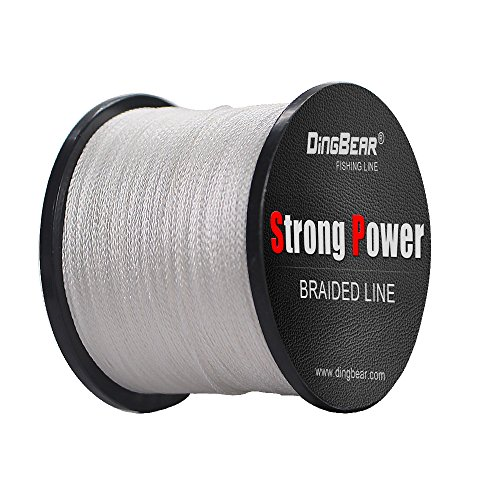 DINGBEAR 437Yd/400M 85LB/0.45mm Fresh Green Super Strong Pull Generic Braided Fishing Line Fishing Lines FishLines FishingLine