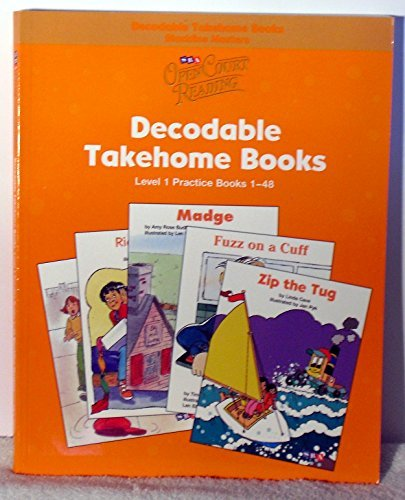 Open Court Reading - Practice Decodable Takehome Blackline Masters (Books 1-48 ) (1 Workbook of 48 Stories) - Grade 1