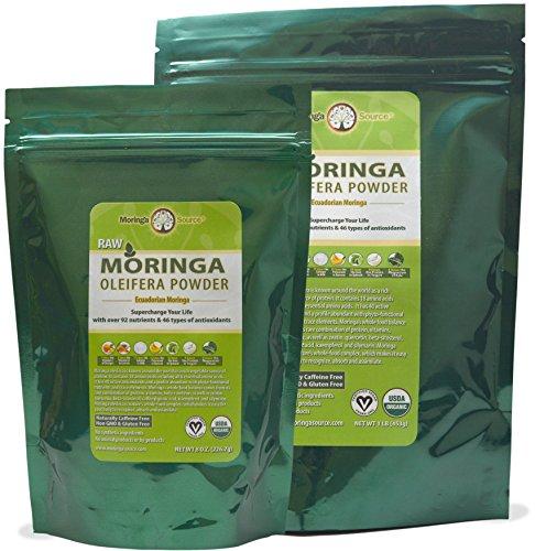 Moringa Oleifera Leaf Powder - USDA Organic - 12 lb