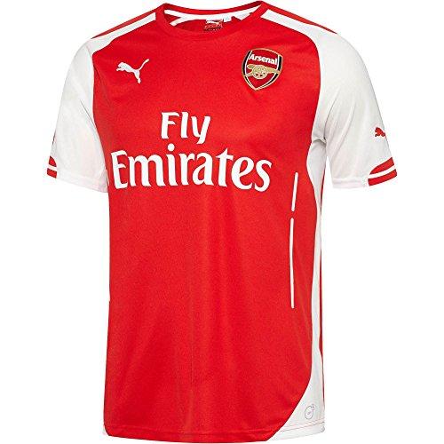 最大限判決控えるPUMA Arsenal Home Replica Jersey 2014-15/サッカーユニフォーム アーセナル ホーム用 背番号なし 2014-15