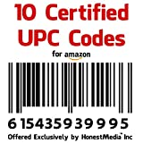 UPC EAN Numbers Barcodes Bar Code Number Amazon (10 UPC EAN Barcode Numbers) TRENDY ACCESS