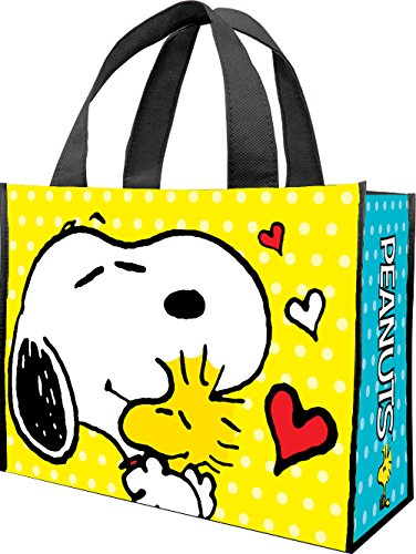 Peanuts Large Recycled Shopper Tote 85473 (Recycled Statues)