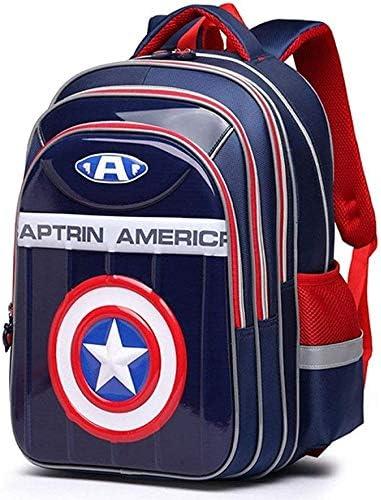 DL PACK Capitán América Mochila Mochila, de Gran Capacidad de los ...