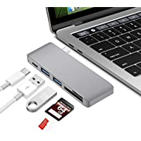 Tuff-Luv Type-C USB 3.0 3 in 1 Combo Hub - Dark Grey
