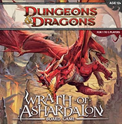 Wrath Of Ashardalon A Dd Boardgame from Wizards of the Coast