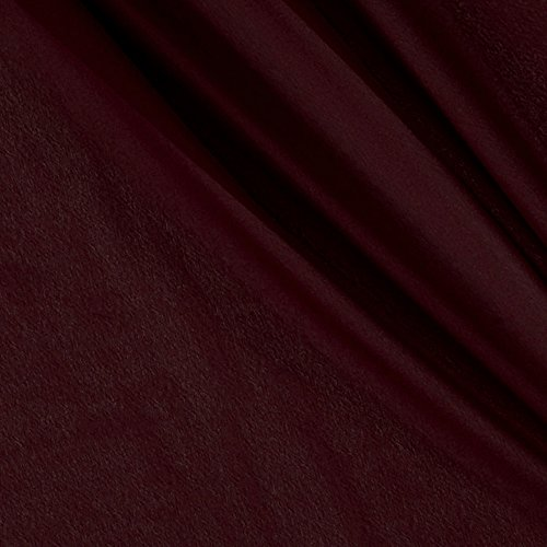 Ben Textiles Double Georgette Burgundy Fabric by the Yard