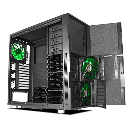 Deep Silence 5 Full Tower E-ATX Case for Mass Storage Servers & Sensitive Audio Workstations