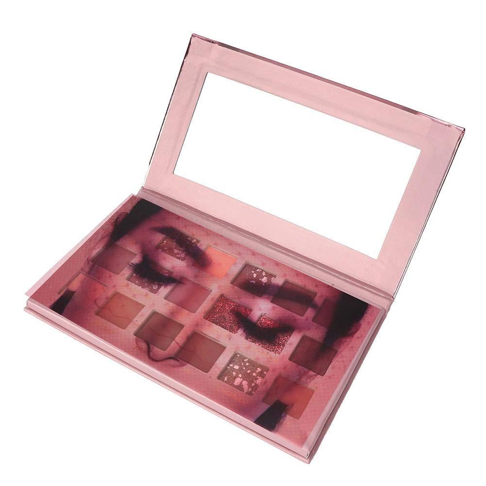 18 Colors Eyeshadow, Eyeshadow Palette, Matte Glitter Eyeshadow With Large Sequin Eyeshadow Palette Cosmetics Asserproof Shimmer And Shine Eyeshadow