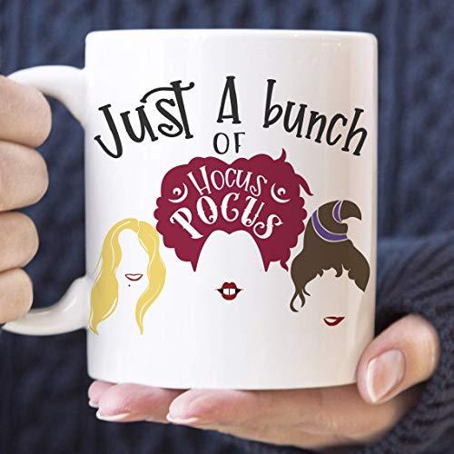 Hocus Pocus Coffee Mug Funny Sanderson Sisters Ceramic Cup -