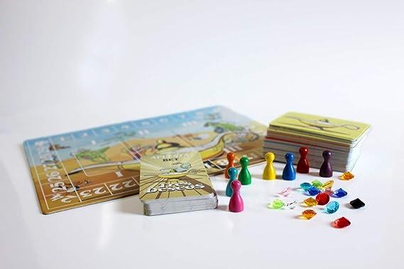 El Troquel Tres Deseos - Juego de Mesa [Castellano]: Amazon.es: Juguetes y juegos
