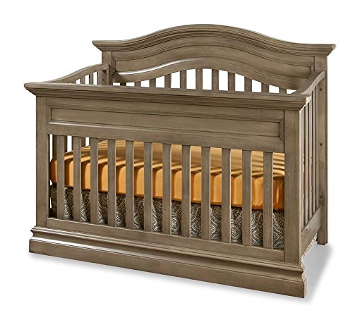 (Westwood Design Stone Harbor 4 in 1 Convertible Crib, Cashew)