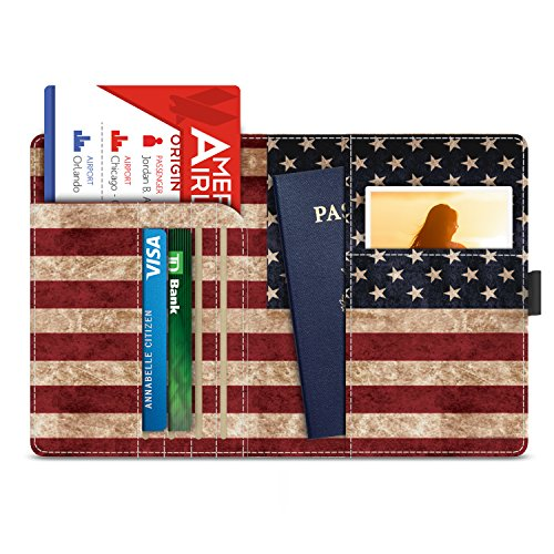 MoKo Blocking Passport Multi purpose Leather