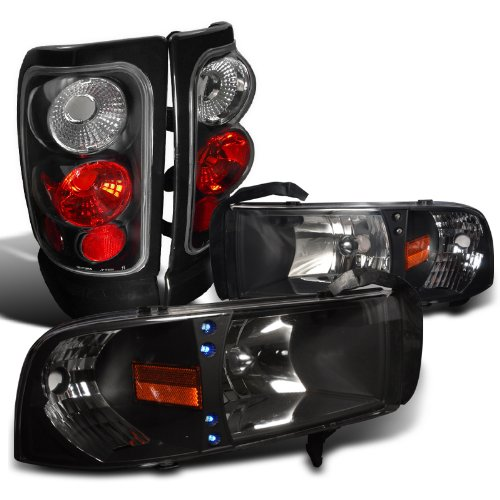 01 dodge ram 1500 head lamp - 6