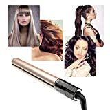Best Flat Iron For Curly Hairs - Hair Iron,Negative Ion Hair Styling Flat Iron,Rotating Adjustable Review
