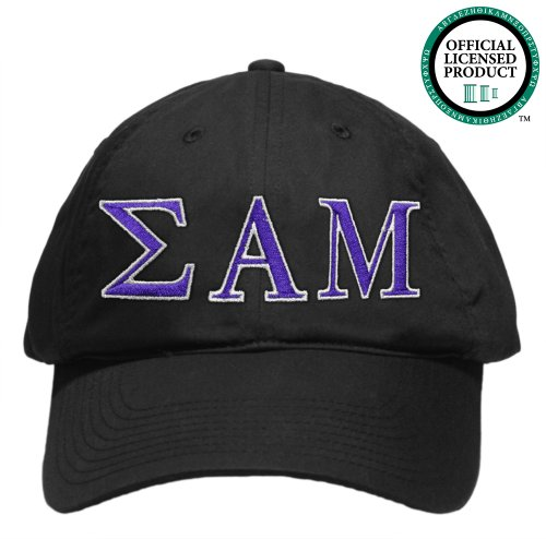 Sigma Alpha Mu (SAMMY) Embroidered Nike Golf Hat, Various Colors