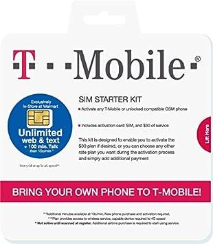 T Mobile Prepaid Sim Karte Für Die Usa Kanada Und Elektronik