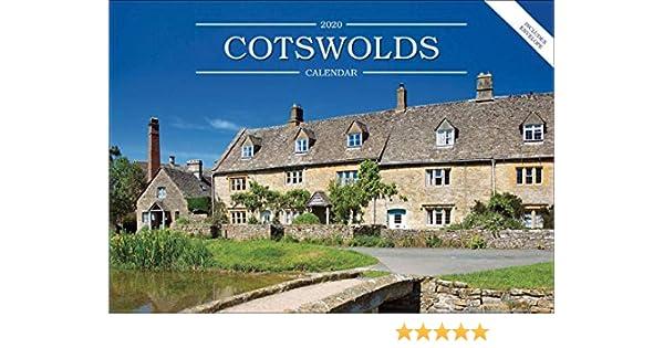 Cotswolds A5 Calendar 2020