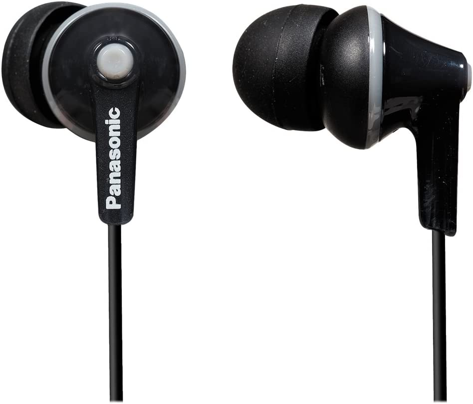 Panasonic Kabelgebundene Kopfhörer 3 5 Mm Klinkenstecker Schwarz Rp Hje125 K Audio Hifi