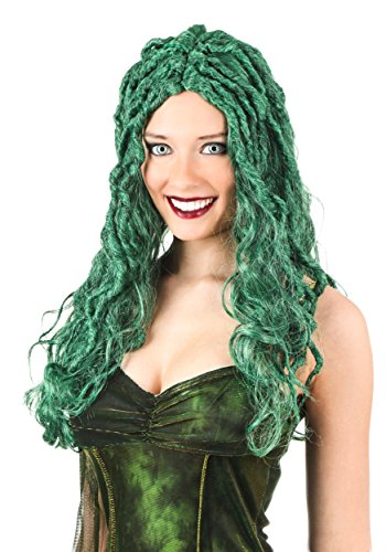 Fun Costumes Wicked Medusa Wig Standard Green