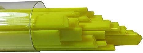 96 COE Oceanside Glass Noodles Clear