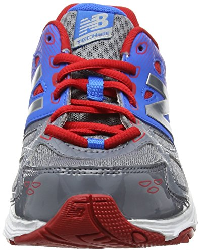 New Balance Kr680apy, Sneakers Basses Mixte Enfant Multicolore (Grey/blue)