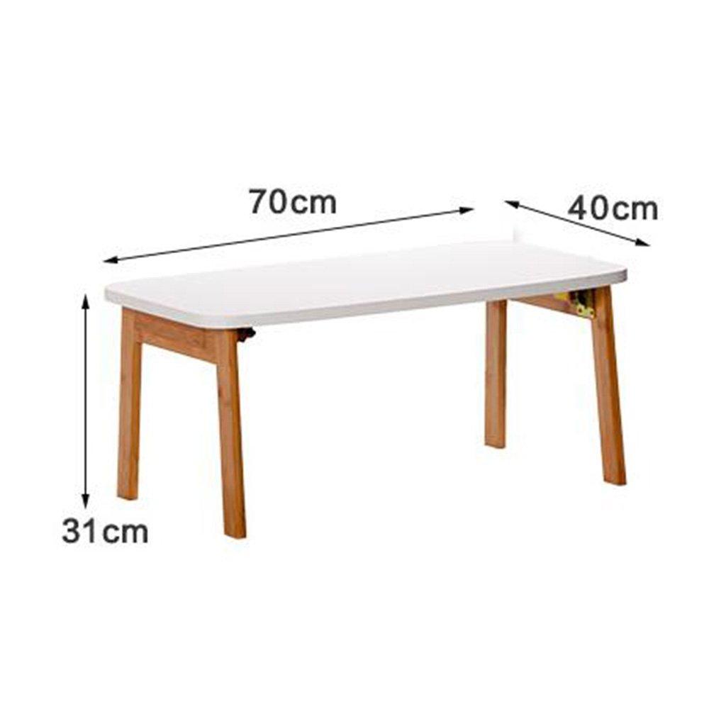 AJZXHE Kindertisch Tisch Ecktisch Sofa Beistelltisch Computertisch Klapptisch Einfacher Einfacher Einfacher Desktop (größe   80cm) 651abd