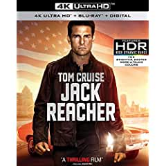 JACK REACHER arrives on 4K Ultra HD June 26th from Paramount
