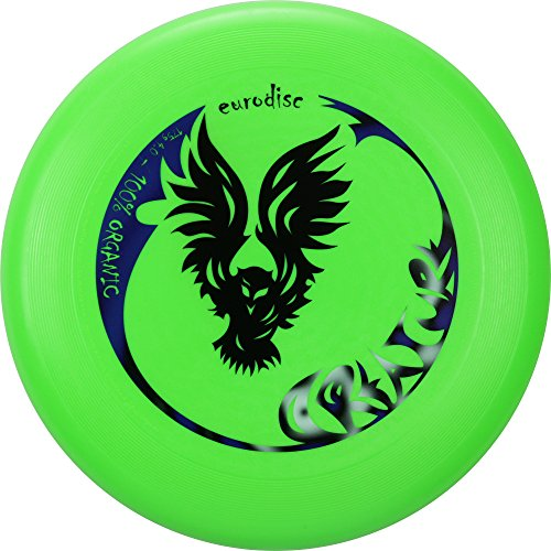 Eurodisc 175g not Discraft Ultimate Frisbee Competition Disc design CREATURE GREEN by New Games - Frisbeesport