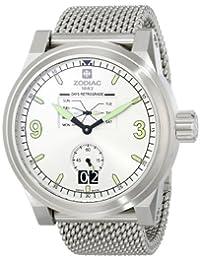 Zodiac ZMX Men's ZO8565 ZO8565 Aviator Stainless Steel Watch