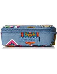 Travel Pill Case, Signature Cotton