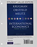International Economics, Obstfeld, Maurice and Melitz, Marc, 0132925885