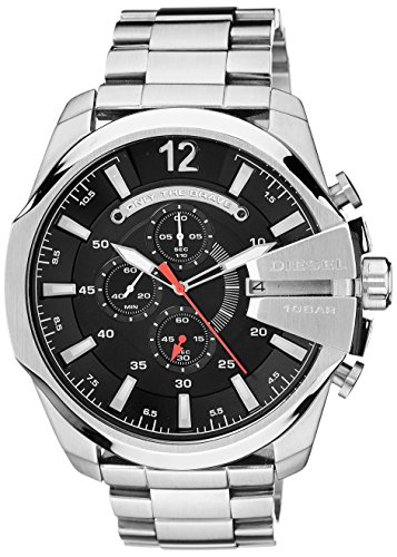 - Diesel Men's Analog Black Dial Watch