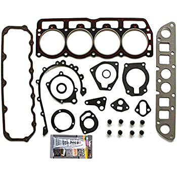 SCITOO Compatible with Head Gasket Set fits Jeep Cherokee Wrangler Dodge Dakota 2.5L VIN P OHV 97-02 Engine Head Gaskets Kit Sets