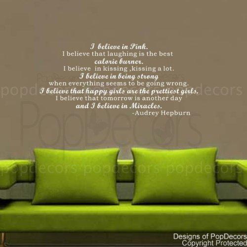 wall decal quotes audrey hepburn - 9