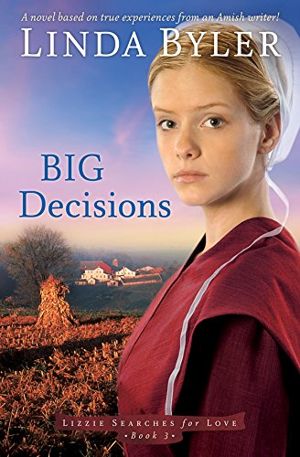 Big Decisions: A Novel Based On True Experiences From An Amish Writer! (Lizzie Searches for Love) cover