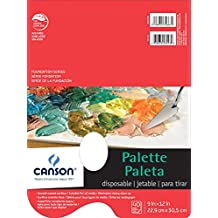 """Foundation Disposable Palette Pad, 9""""X12"""" Fold Over"""