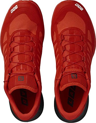 Salomon Adulto Unisex S / Senso Laboratorio 6 Sg Scarpe Da Trail Running, Rosso, 49,3 Eu Rosso (/ Corsa Rosso / Nero Bianco 000)
