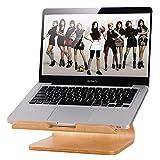 Original Samdi Heat Dissipation Elegent Wooden Dock Laptop Vertical Desktop Radiating Stand Holder for MacBook Air Macbook Pro Asus Acer Lenovo (Birch)