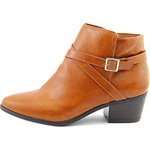 Fashion Womens Ankle Toe Scott Cognac Boots Closed FLYNNE Karen wRq7A5Yxq