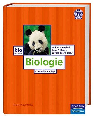 Biologie von Neil A. Campbell und Jane B. Reece - 6. Auflage (Pearson Studium - Biologie)
