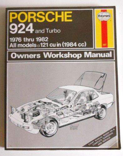 Porsche 924 and Turbo : 1976-1982, Automotive Repair Manual