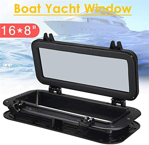 Fltaheroo Boat Ship Yacht Car Replacement Porthole Rectangular Waterproof Rubber Seal Skylight Cover Rv Window