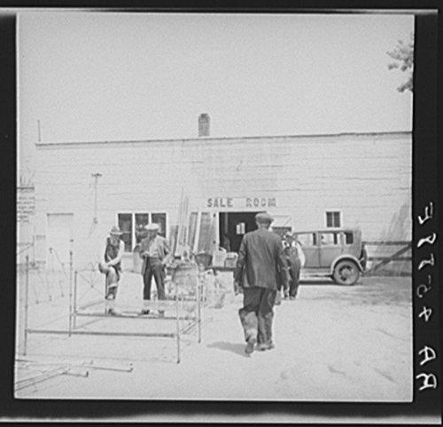 1936 Photo Auction sale. Kearney, Nebraska Location: Buffalo County, Kearney, Nebraska